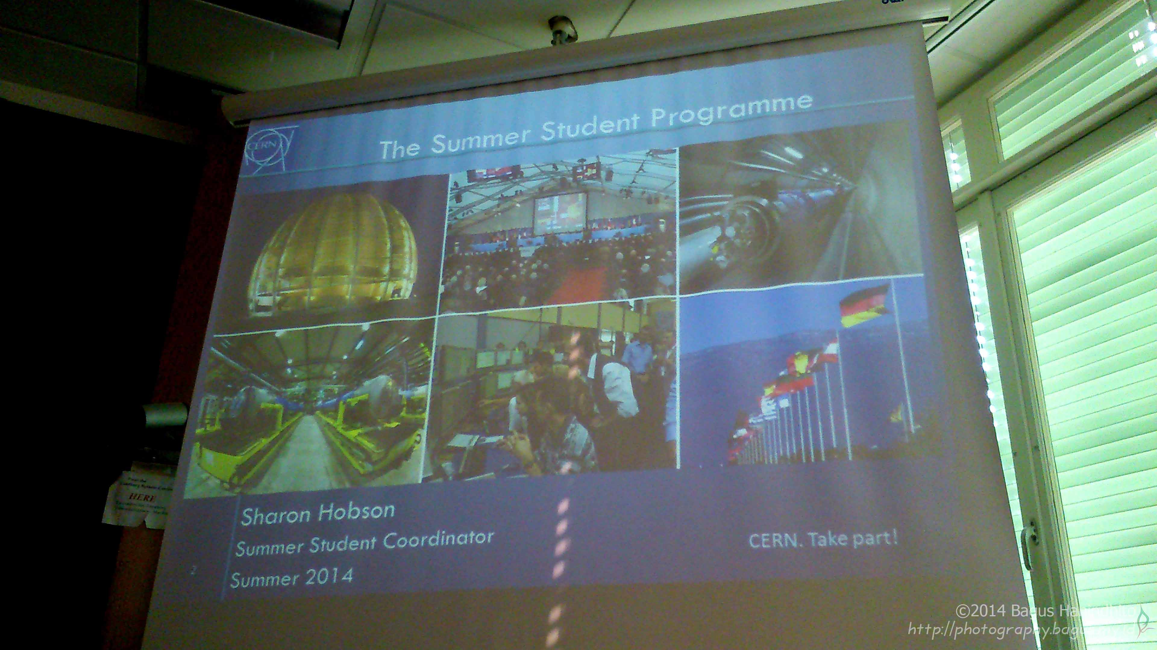 Inauguration Presentation of CERN Summer Student 2014 from the committee. Let the awesomeness be started!