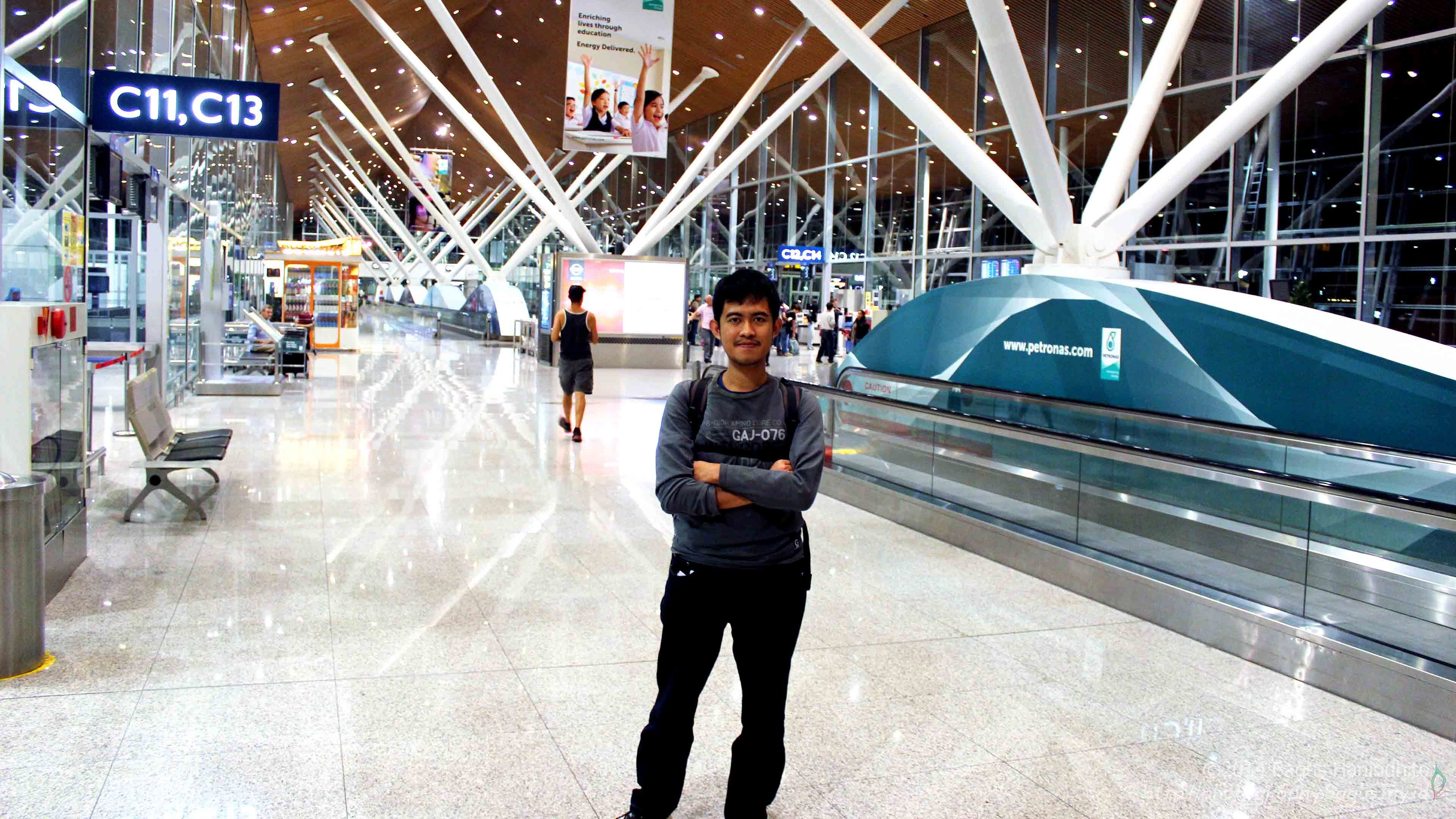 Stopover at Kuala Lumpur International Airport (KUL). I was able to stretch my body and got ready for the next part of flight.