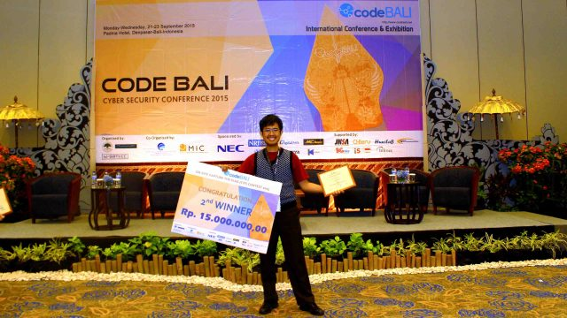 Bagus Hanindhito at CodeBali 2015