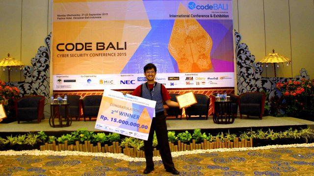 Bagus Hanindhito at CodeBali 2015
