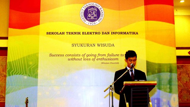 Bagus Hanindhito delivered commencement speech graduation ceremony institut teknologi bandung