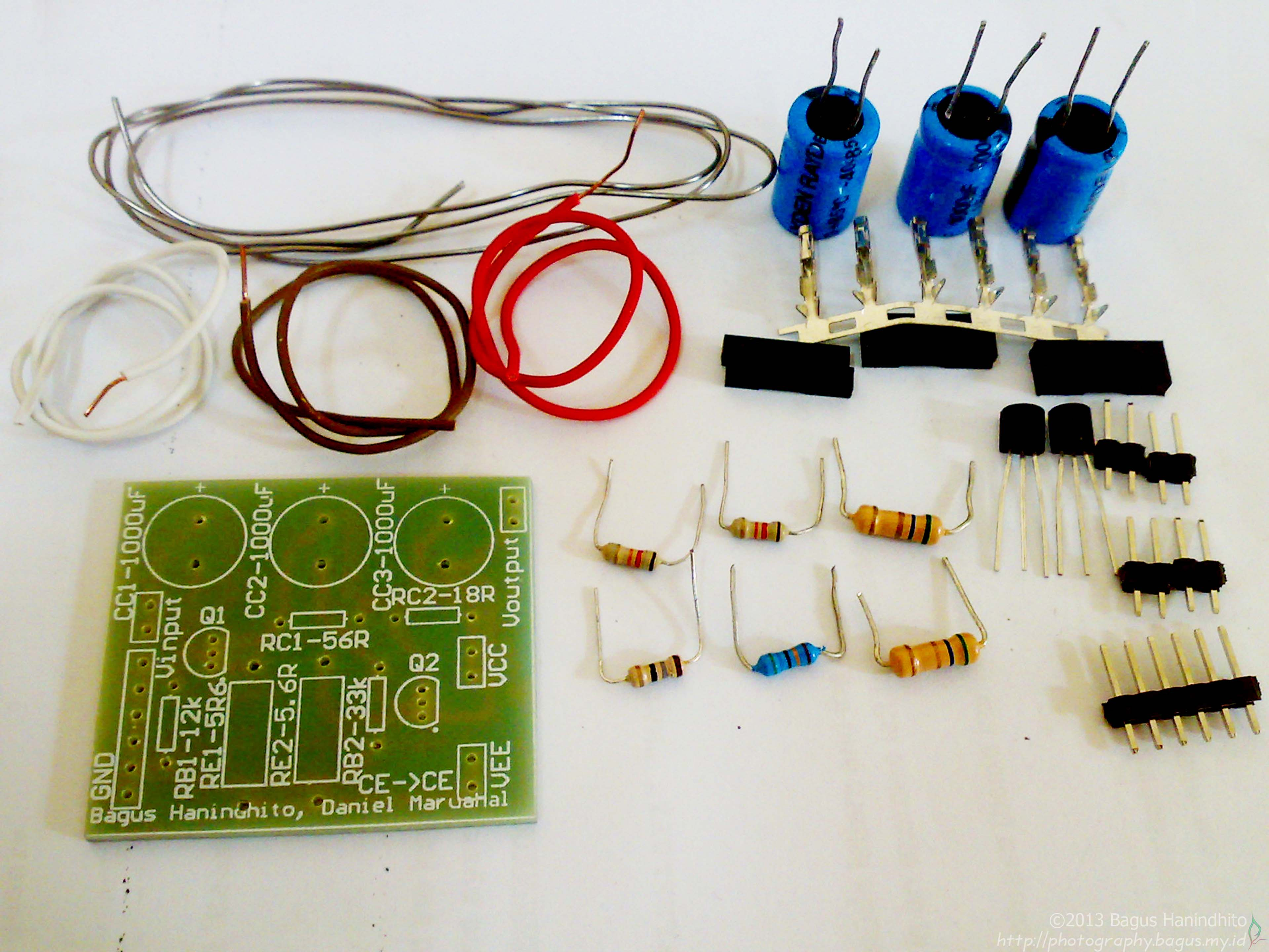 Amplifier PCB Assembly