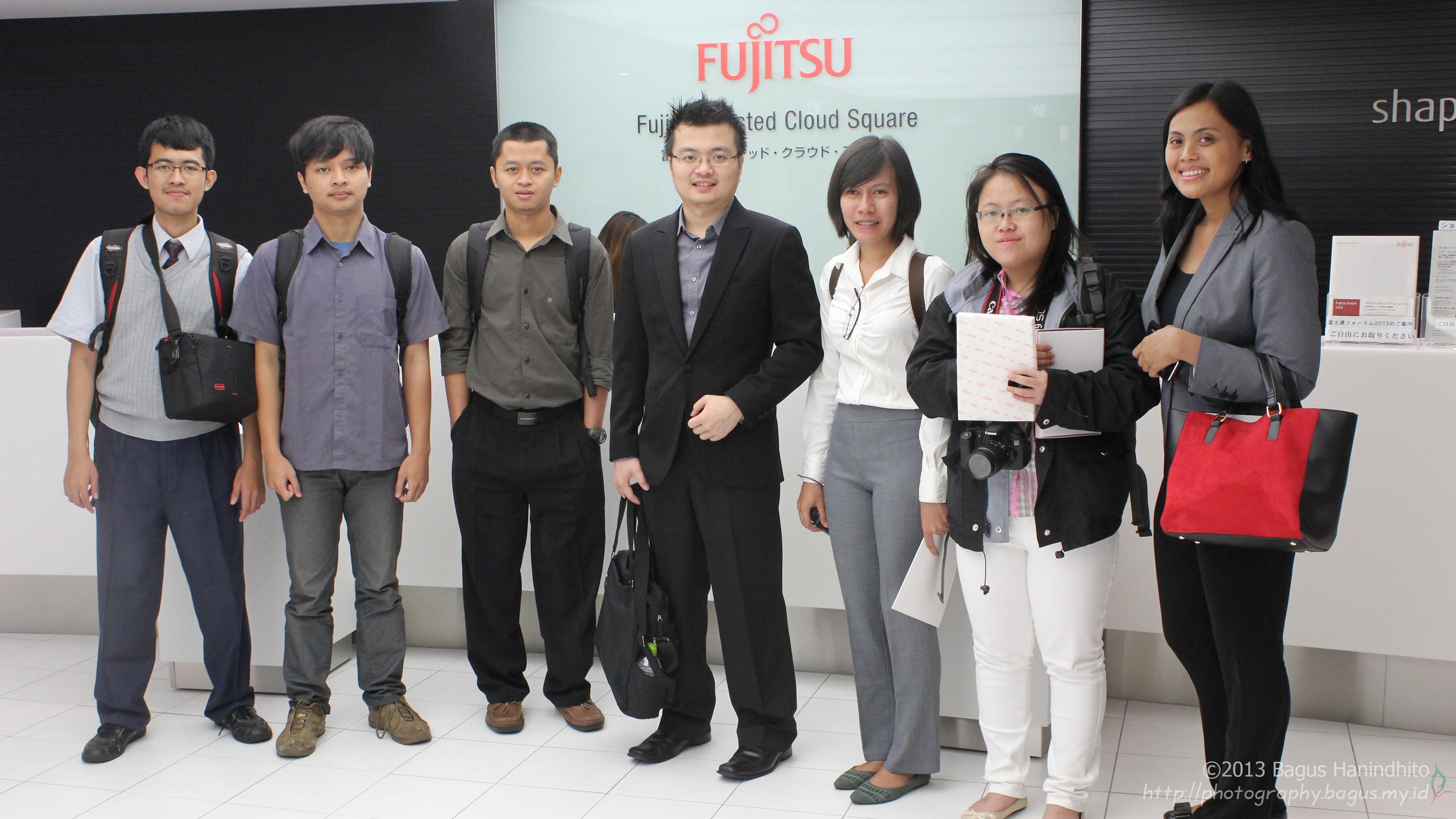 Fujitsu Trusted Cloud Square Tokyo Japan