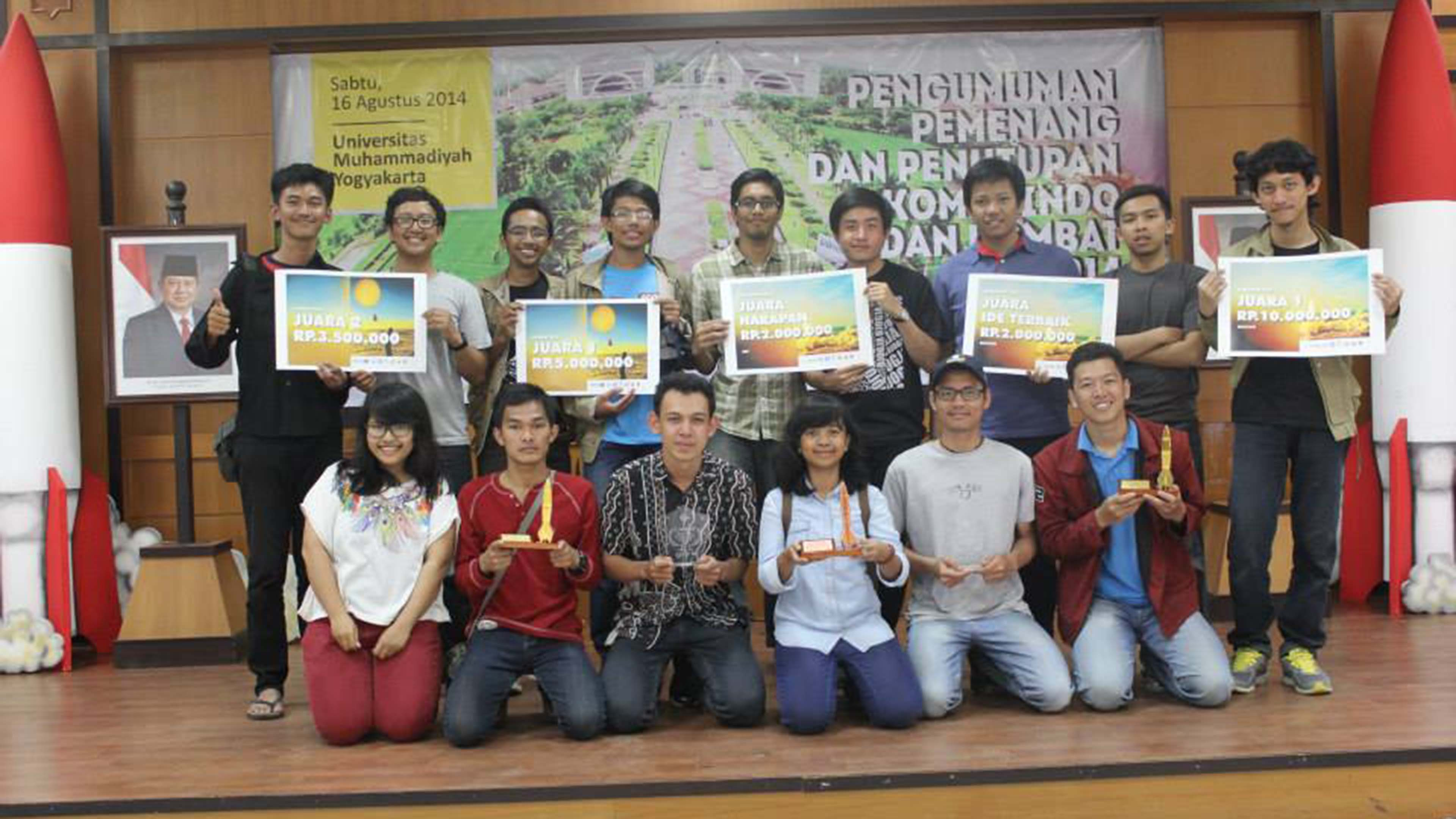 Institut Teknologi Bandung won most category in this competition