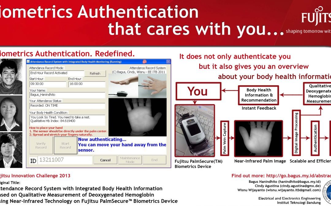 Fujitsu PalmSecure for Authentication and Health