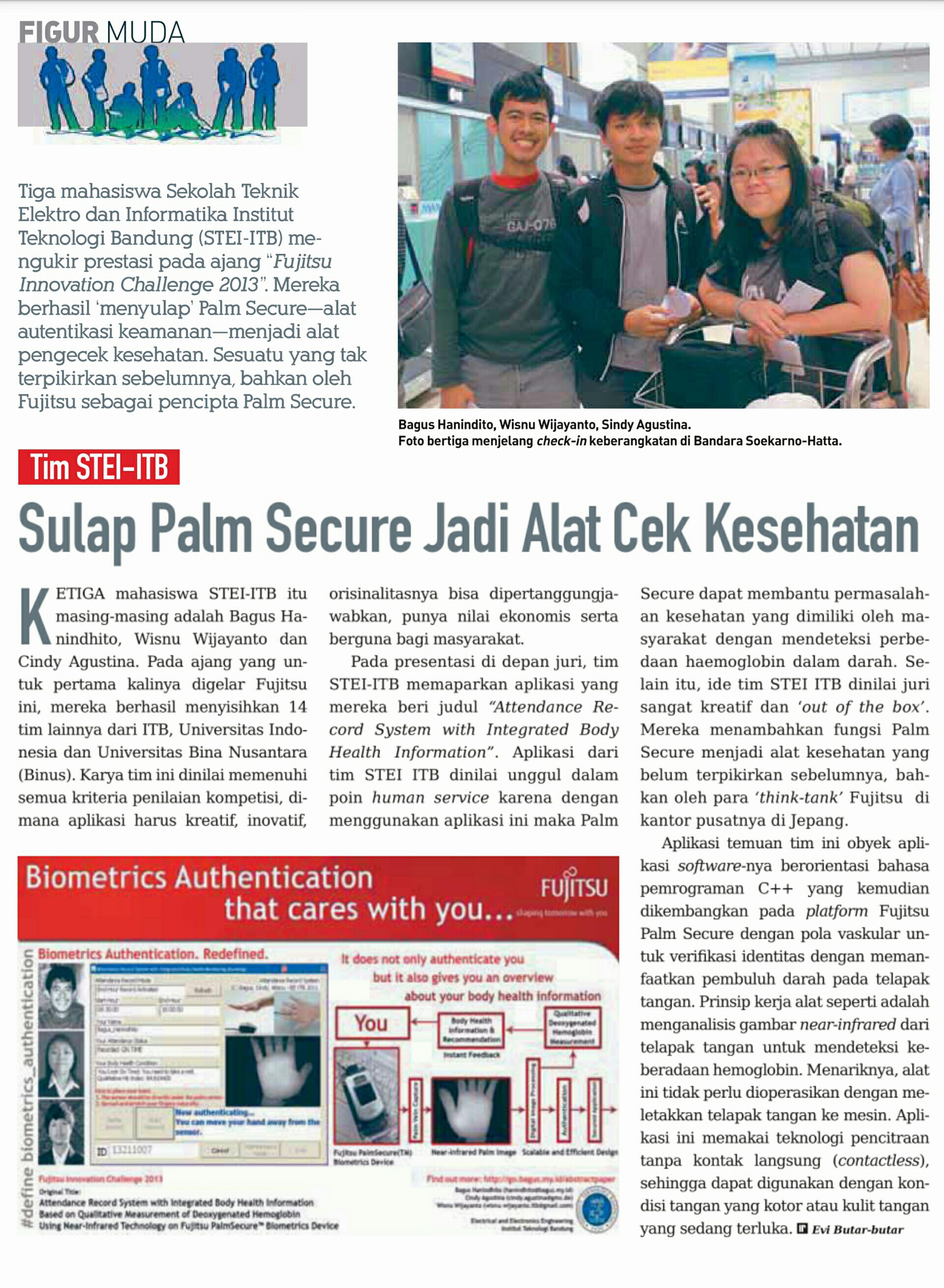 Publication on Inspirasi Insinyur Magazine (Engineer Inspiration Magazine Indonesia)