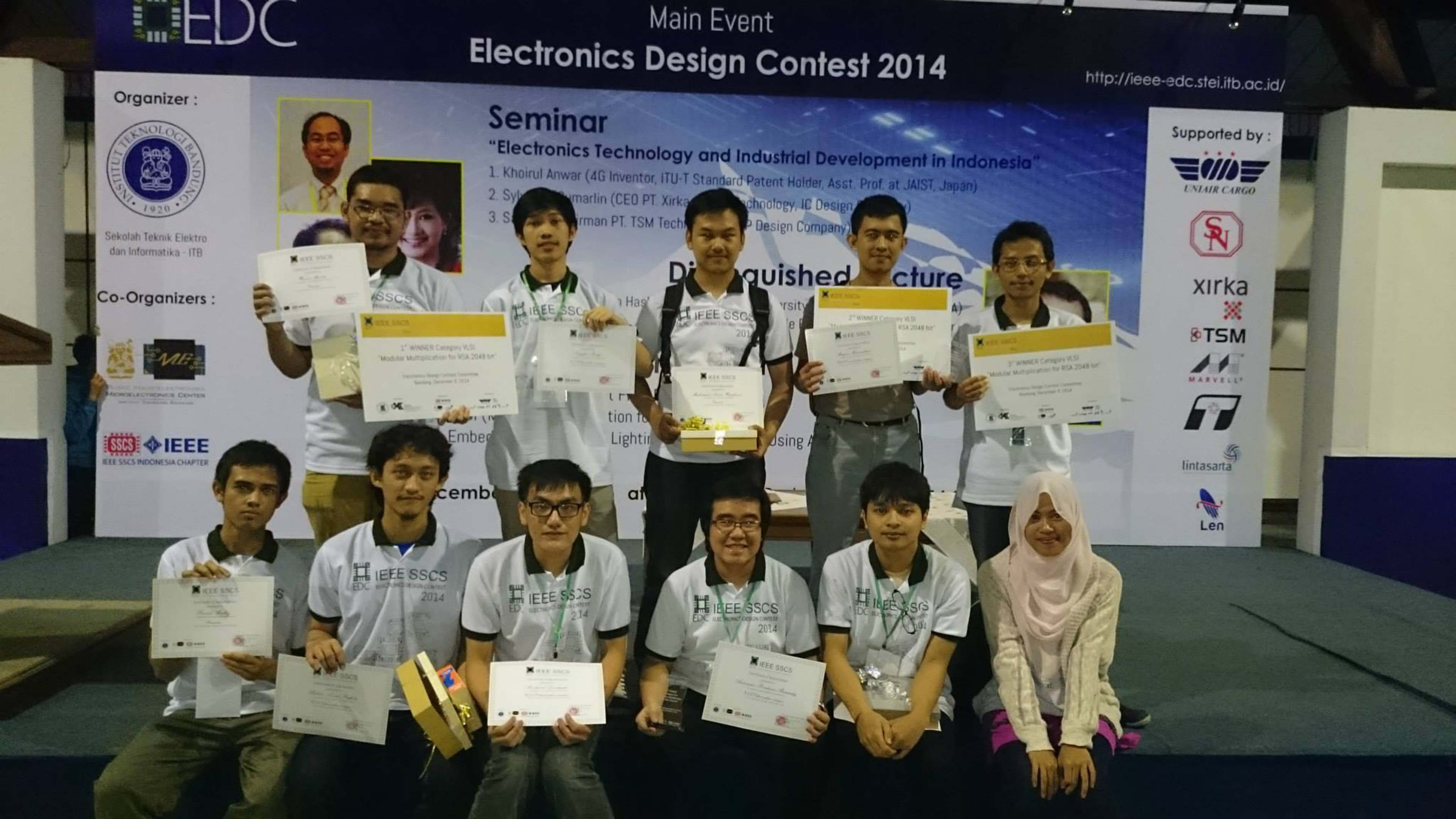 Winner of Electronic Design Contest 2014